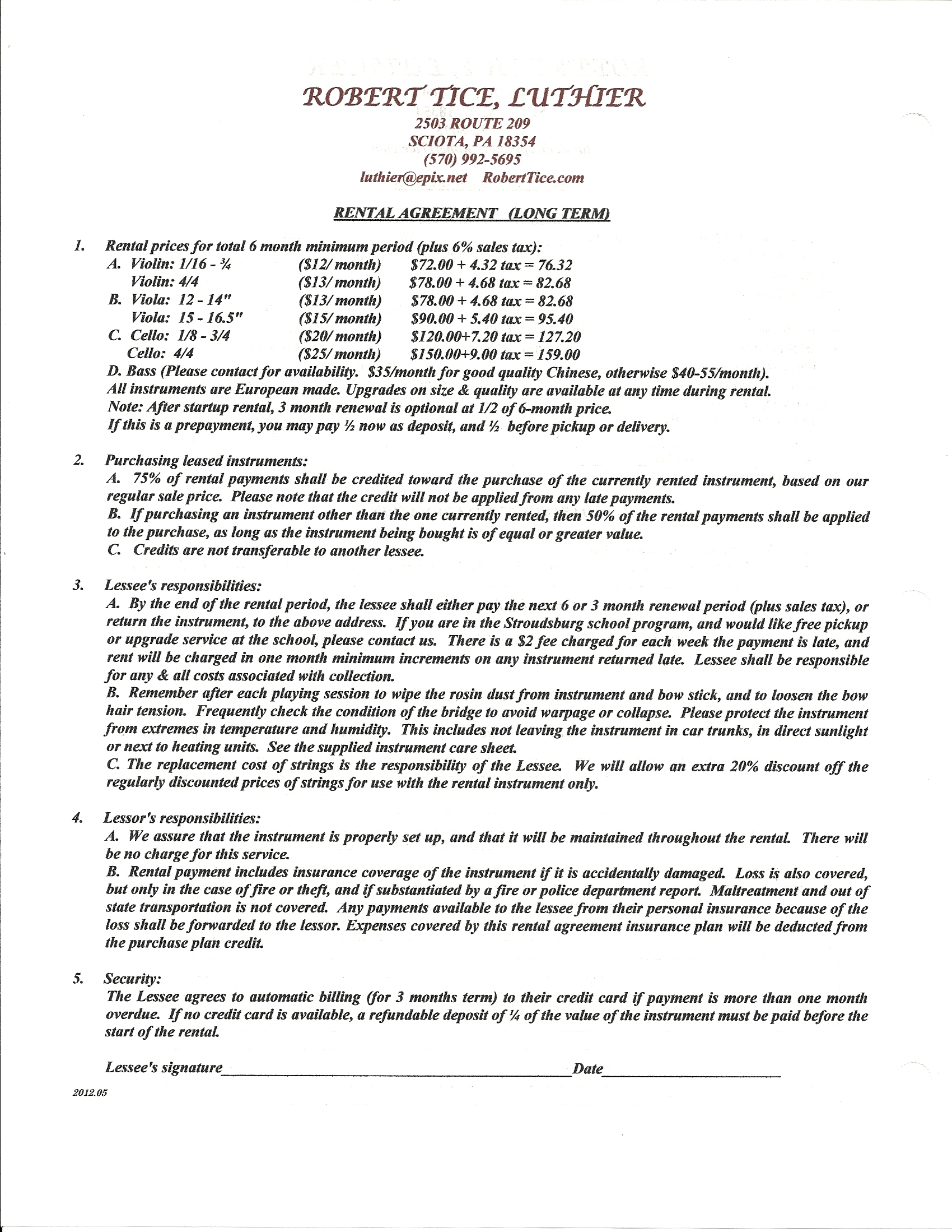apartment lease template free apartment lease form